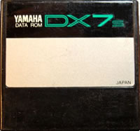 How to restore Yamaha DX7s factory voice and performance data